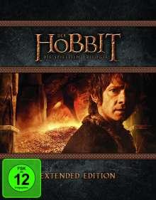 Der Hobbit: Die Trilogie (Extended Edition) (Blu-ray), 9 Blu-ray Discs