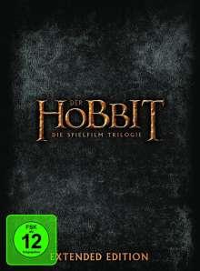 Der Hobbit: Die Trilogie (Extended Edition), 15 DVDs