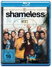 Shameless Season 5 (Blu-ray), 2 Blu-ray Discs
