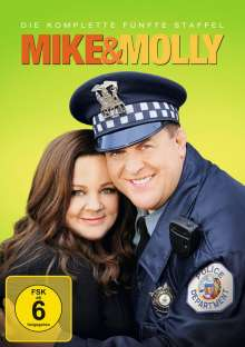 Mike & Molly Season 5, 3 DVDs
