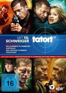 Tatort - Til Schweiger Boxset 1-4, 4 DVDs