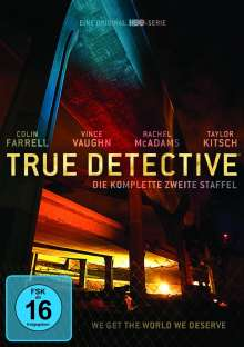 True Detective Season 2, 3 DVDs
