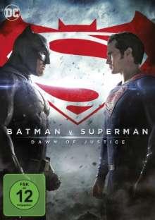 Batman v Superman: Dawn of Justice, DVD