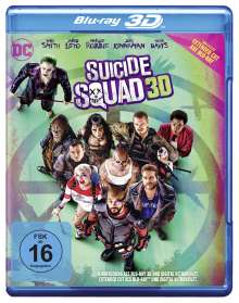 Suicide Squad (3D Blu-ray), Blu-ray Disc