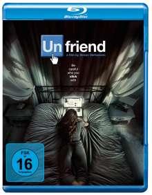 Unfriend (Blu-ray), Blu-ray Disc