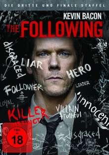 The Following Season 3 (finale Staffel), 4 DVDs