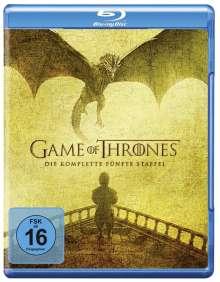 Game of Thrones Season 5 (Blu-ray), 4 Blu-ray Discs