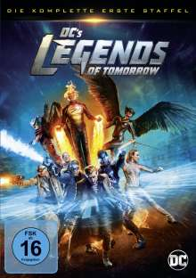 DC's Legends of Tomorrow Staffel 1, 4 DVDs