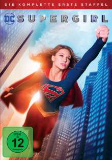 Supergirl Staffel 1, 5 DVDs