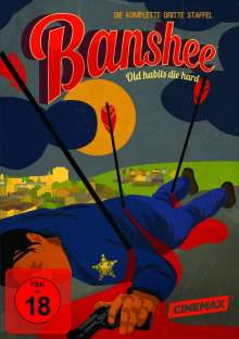 Banshee Season 3, 4 DVDs