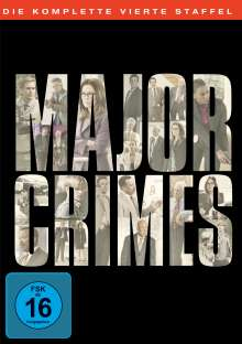Major Crimes Season 4, 5 DVDs