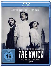 The Knick Season 2 (Blu-ray), 4 Blu-ray Discs