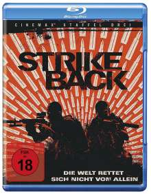 Strike Back Season 3 (Blu-ray), 3 Blu-ray Discs