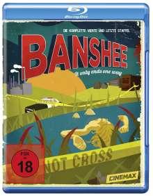 Banshee Season 4 (finale Staffel) (Blu-ray), 3 Blu-ray Discs