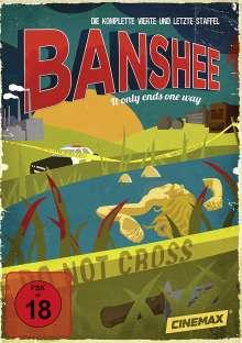 Banshee Season 4 (finale Staffel), 3 DVDs