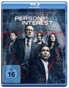 Person Of Interest Season 5 (finale Staffel) (Blu-ray), 3 Blu-ray Discs
