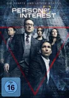 Person Of Interest Season 5 (finale Staffel), 3 DVDs