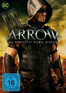 Arrow Staffel 4, 5 DVDs