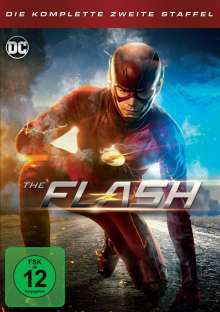 The Flash Staffel 2, 5 DVDs