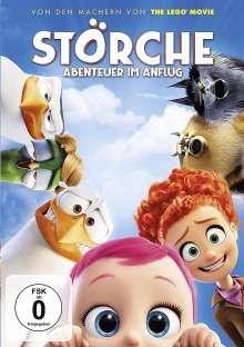 Störche - Abenteuer im Anflug, DVD