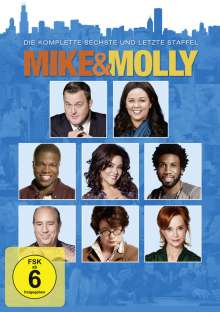Mike & Molly Season 6 (finale Staffel), 2 DVDs