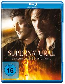 Supernatural Staffel 10 (Blu-ray), 4 Blu-ray Discs