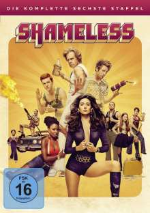 Shameless Season 6, 3 DVDs