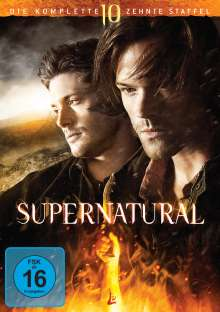 Supernatural Staffel 10, 6 DVDs