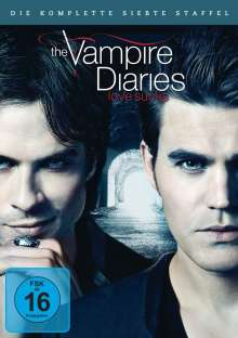 The Vampire Diaries Staffel 7, 5 DVDs
