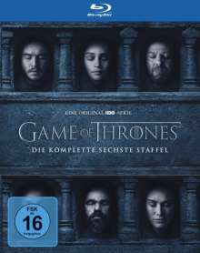 Game of Thrones Season 6 (Blu-ray), 4 Blu-ray Discs