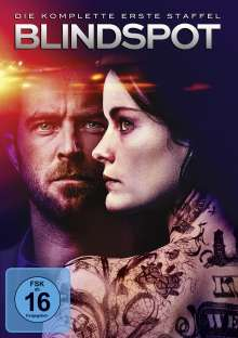 Blindspot Staffel 1, 5 DVDs