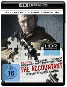 The Accountant (Ultra HD Blu-ray & Blu-ray), Ultra HD Blu-ray