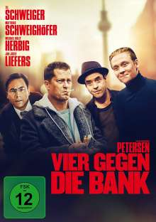 Vier gegen die Bank, DVD