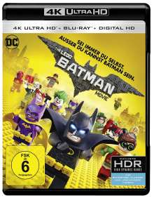 The Lego Batman Movie (Ultra HD Blu-ray & Blu-ray), 1 Ultra HD Blu-ray und 1 Blu-ray Disc