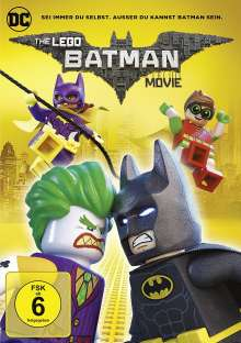 The Lego Batman Movie, DVD