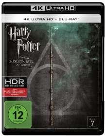 Harry Potter und die Heiligtümer des Todes Teil 2 (Ultra HD Blu-ray & Blu-ray), 1 Ultra HD Blu-ray und 1 Blu-ray Disc