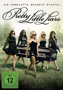 Pretty Little Liars Staffel 6, 5 DVDs