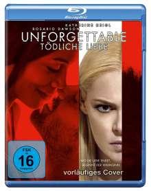 Unforgettable - Tödliche Liebe (Blu-ray), Blu-ray Disc