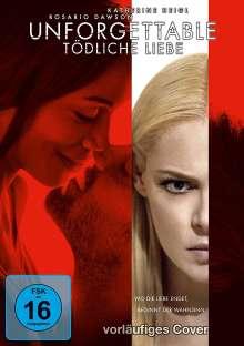 Unforgettable - Tödliche Liebe, DVD