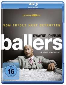 Ballers Staffel 2 (Blu-ray), 2 Blu-ray Discs