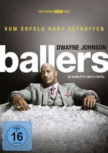 Ballers Staffel 2, 2 DVDs