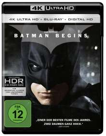 Batman Begins (Ultra HD Blu-ray & Blu-ray), 2 Ultra HD Blu-rays
