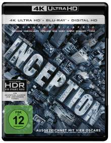 Inception (Ultra HD Blu-ray & Blu-ray), 1 Ultra HD Blu-ray und 1 Blu-ray Disc