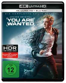 You are wanted Staffel 1 (Ultra HD Blu-ray & Blu-ray), 2 Ultra HD Blu-rays
