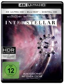 Interstellar (Ultra HD Blu-ray & Blu-ray), 3 Ultra HD Blu-rays