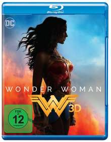 Wonder Woman (3D Blu-ray), Blu-ray Disc