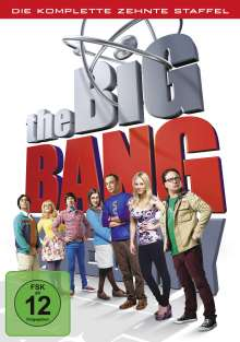 The Big Bang Theory Staffel 10, 3 DVDs