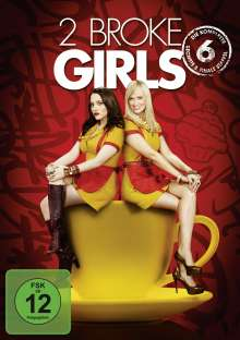 Two Broke Girls Staffel 6 (finale Staffel), 2 DVDs