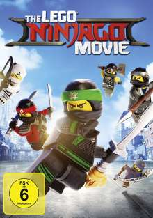 The Lego Ninjago Movie, DVD