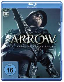 Arrow Staffel 5 (Blu-ray), 4 Blu-ray Discs